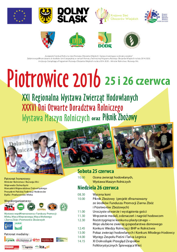 Regionalna Wystawa Zwierząt Hodowlanych – Piotrowice 2016