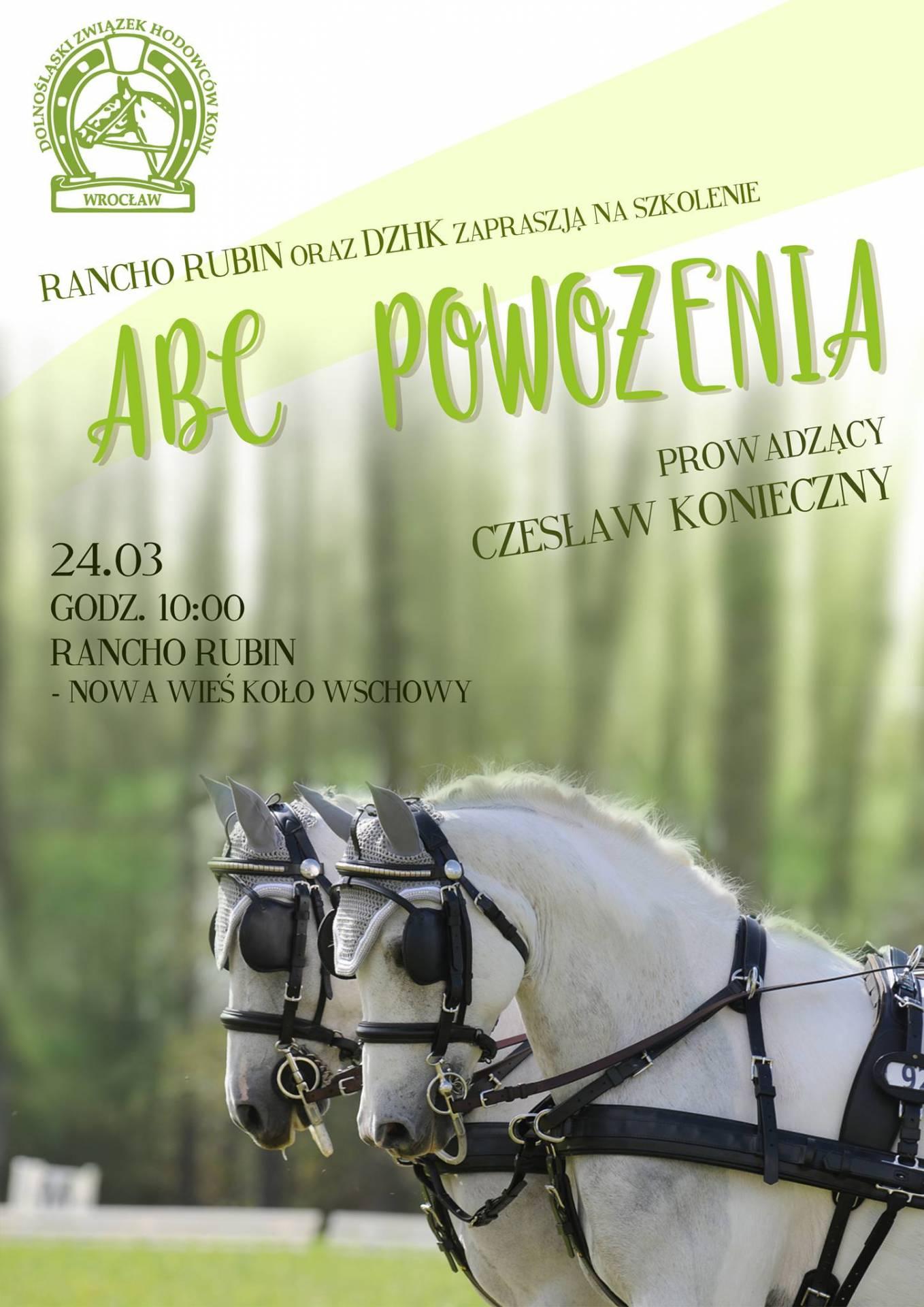 ABC Powożenia-szkolenie 24.03.2018 Wschowa