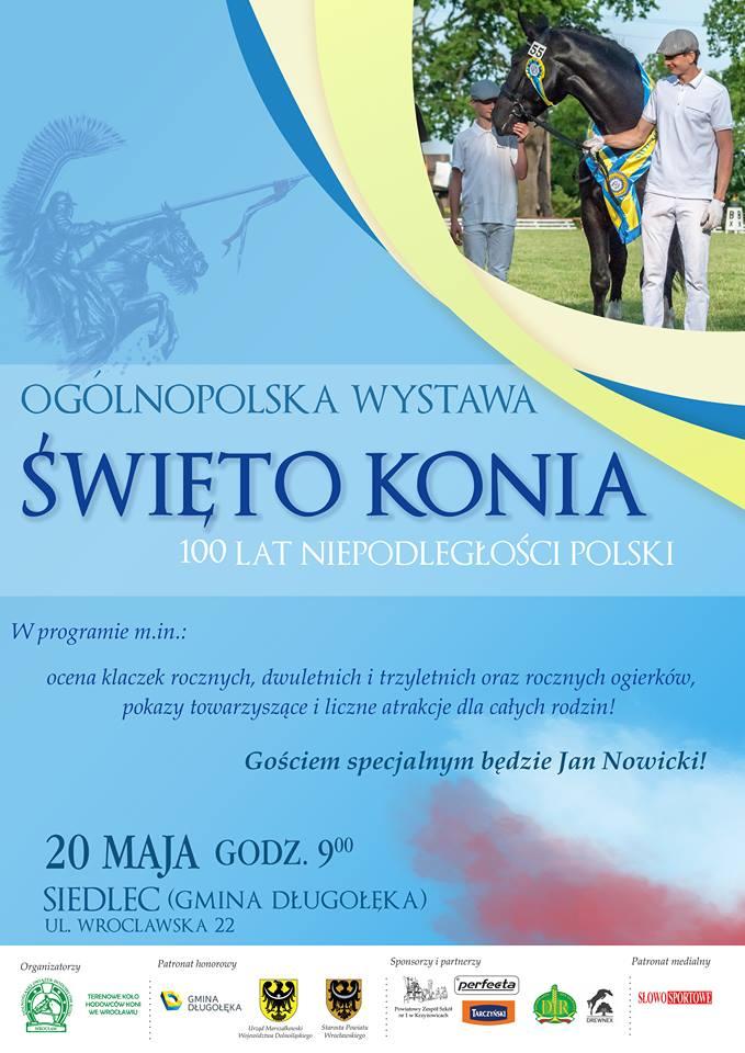 Święto Konia – Ogólnopolska Wystawa Młodzieży Hodowlanej – 16.06.2019