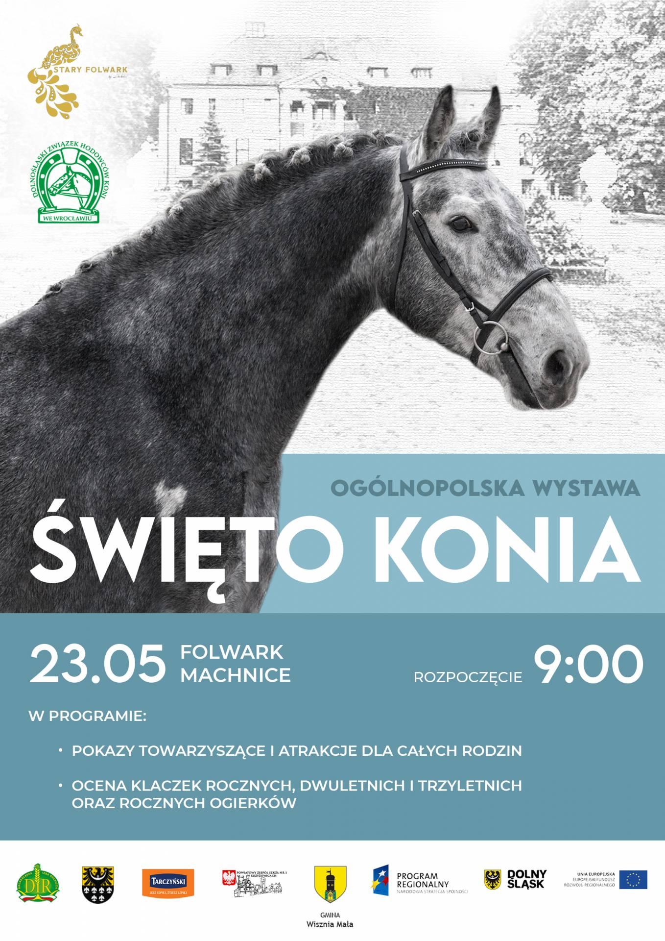 """""""Święto Konia"""" Machnice 23.05.2021"""